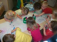 Under 3's - Drawing Animals to Dear Zoo