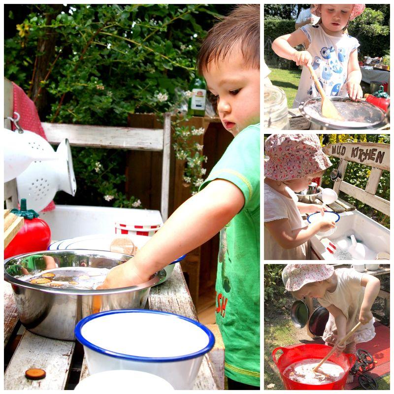 Washing up Collage